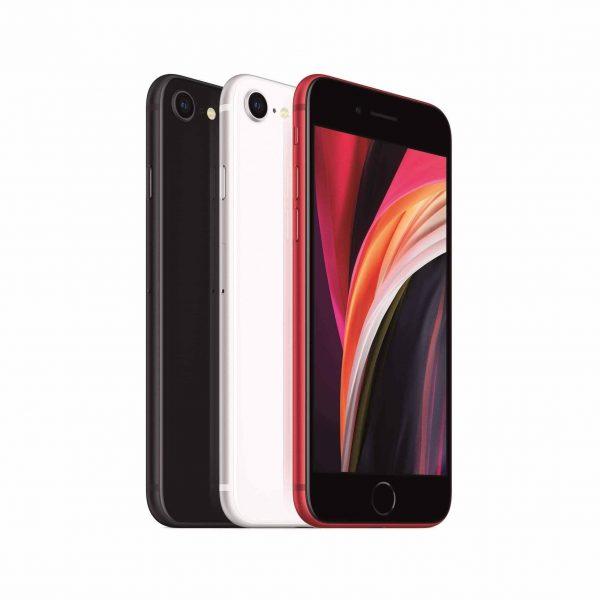 iPhone SE 256 GB (röd)