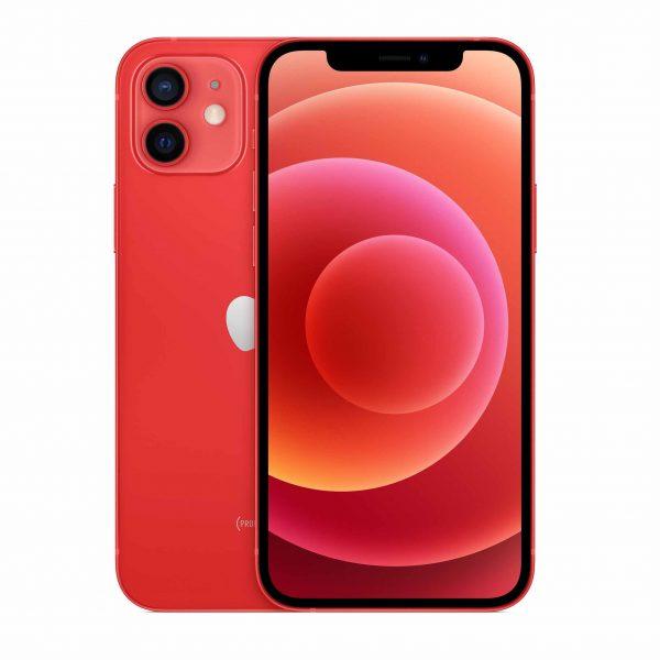 iPhone 12 – 5G-smartphone 256 GB PRODUKT (RÖD)