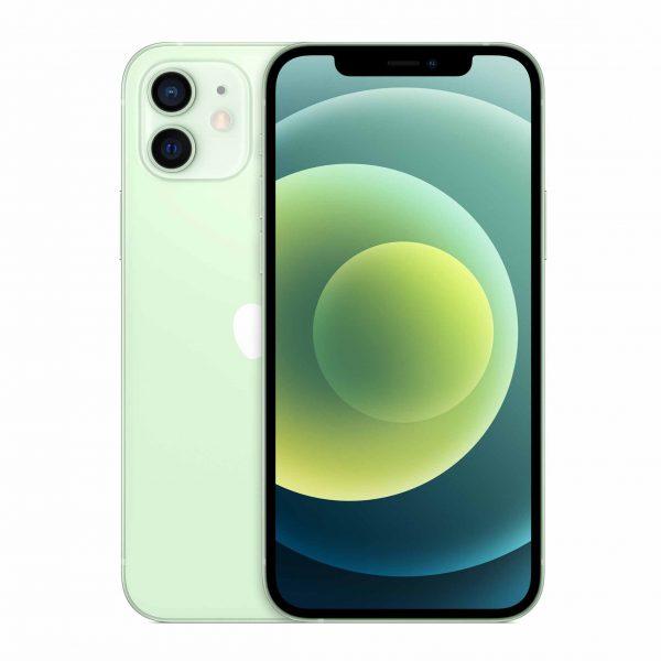 iPhone 12 – 5G-smartphone 64 GB (grön)